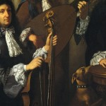 Antonio Gabbiani (1685 ca?) 1st know example of a 4th Cello wound string