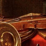Horemans (1770 ca): detail of a Violin (4th silver/silver plated wound)